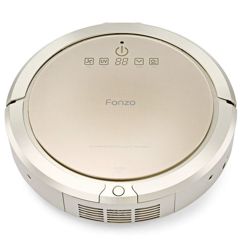 Self-charging robot vacuum