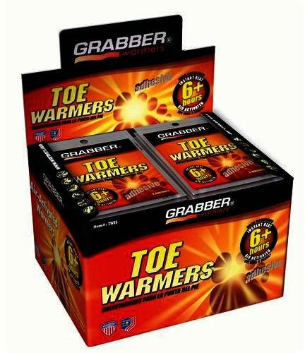 Pack of 40 Grabber Performance Toe Heater with Adhesive