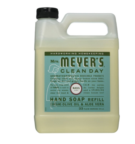 Mrs. Meyers Liquid Hand Soap Refill, 33 Oz.