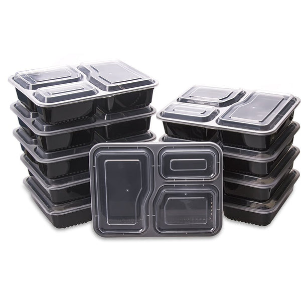 Pack of 50 food storage containers