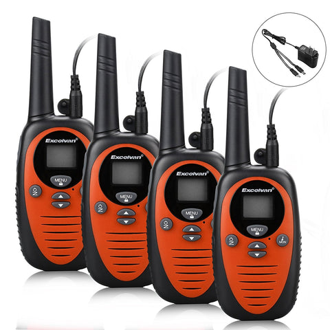 Set of 4, 22 channel radios