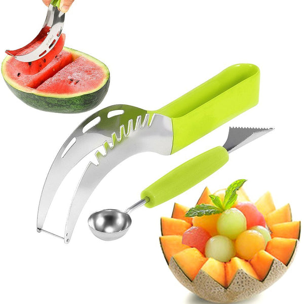 Watermelon, fruit slicer with baller