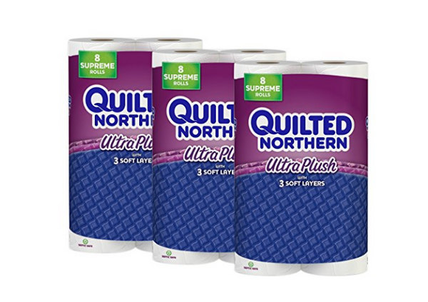 Pack of 24 Quilted Northern Ultra Plush Toilet Paper