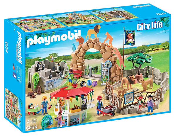 PLAYMOBIL City Zoo Kit, Large