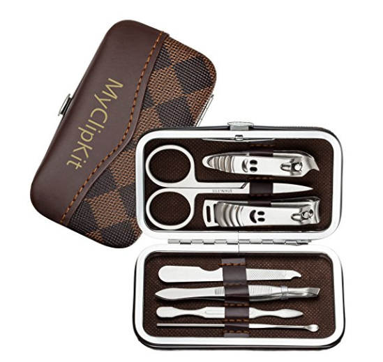 7 in 1 nail clipper set with travel case
