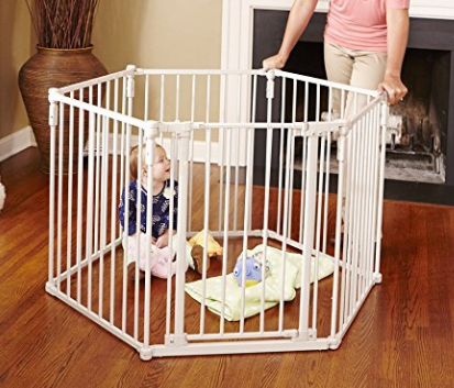 Superyard 3-in-1 metal gate