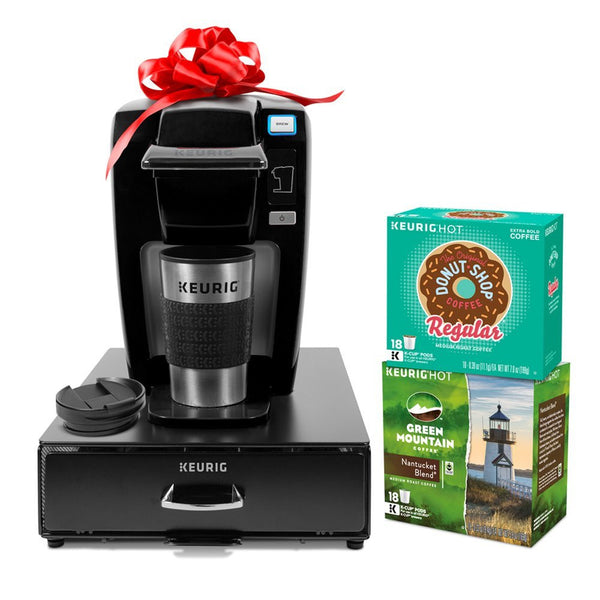 Keurig K15 Single Serve Coffee Maker with 36 K-Cup Pods