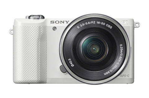 Sony Alpha a5000 digital camera with 16-50mm OSS Lens