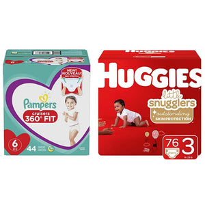 Save Big On Huggies, Pampers And Pull-Ups Diapers