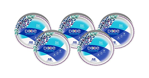 Pack of 220 Dixie paper plates
