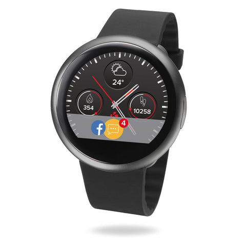 Smartwatch with Circular Color Touchscreen