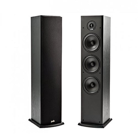 Polk Audio T50 Home Theater and Music Floor Standing Tower Speaker (single)