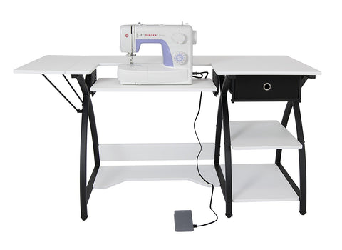 Singer sewing machine with sewing desk combo