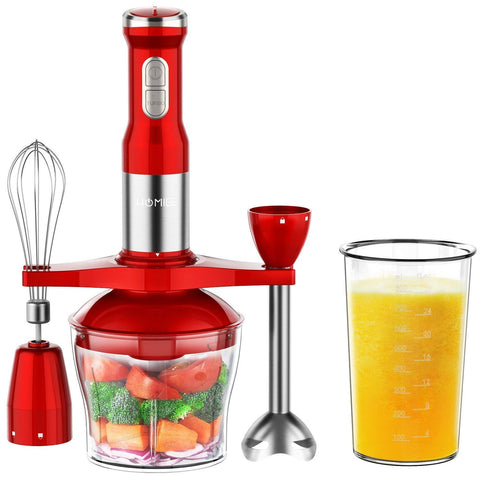 HOMIEE Hand Blender, 5-in-1 Electric Hand Blender Stick