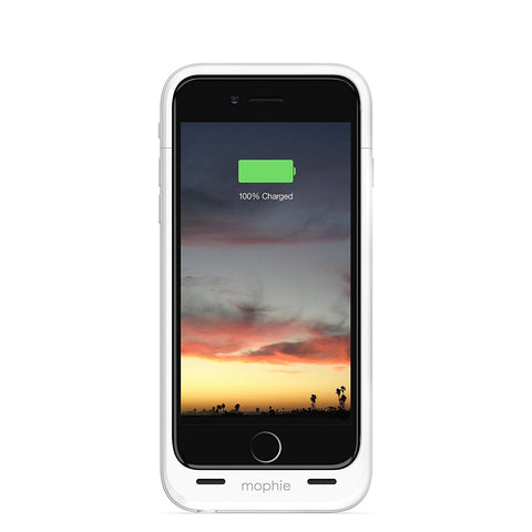 mophie battery pack case for iPhone 6/6s - White