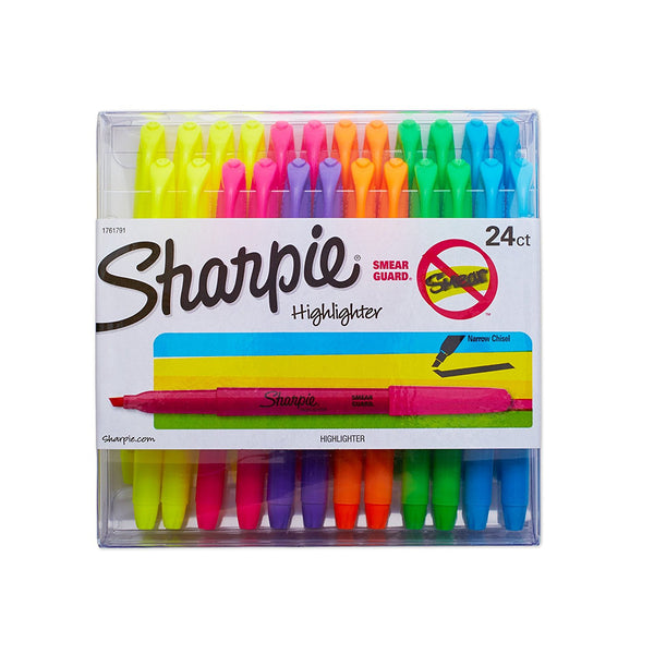Pack of 24 Sharpie highlighters