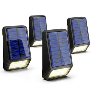 Pack Of 4 Solar LED Lights