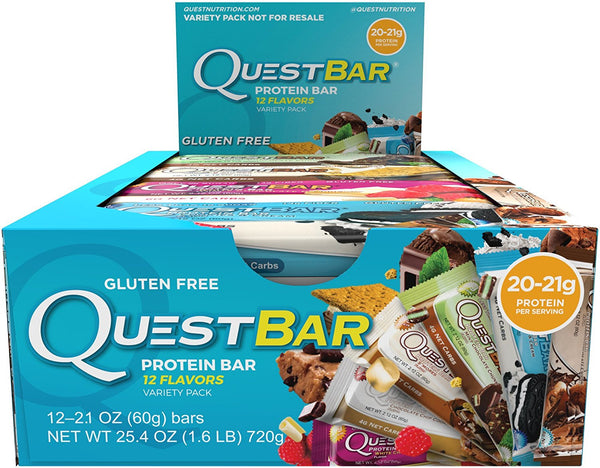 20% off 12 ct. Quest Nutrition Protein Bar Packs