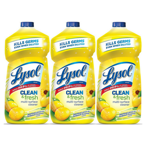 Pack of 3 Lysol Multi-Surface Cleaner