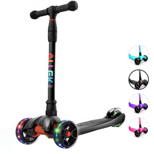 Lean 'N Glide Scooter With Light Up Wheels (4 Colors)