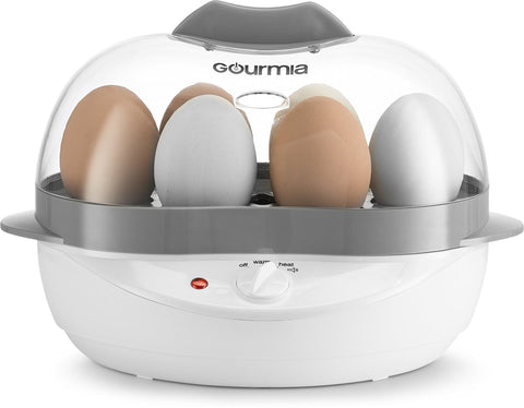 400W Gourmia GEC175 6-Egg Electric Egg Cooker + Steamer