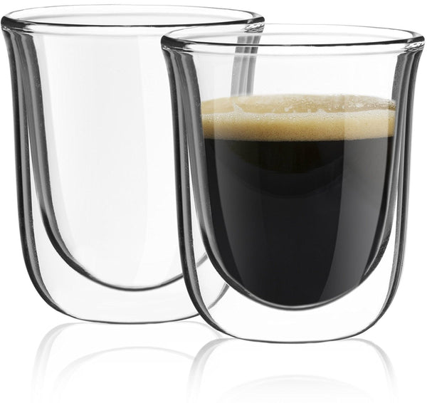 Set of 2 Espresso Glasses