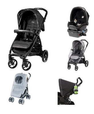 Peg Perego Booklet, Onyx Bundle