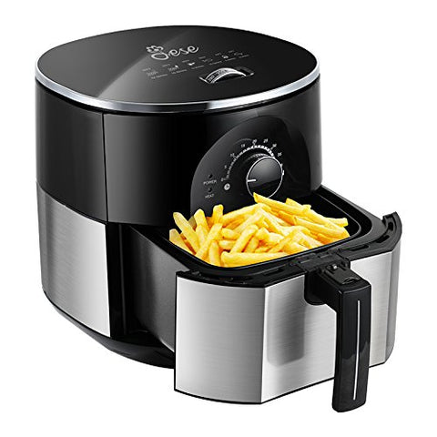 Multifunctional air fryer with recipe book