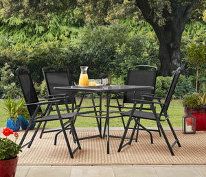 Outdoor Patio 5 Piece Dining Set