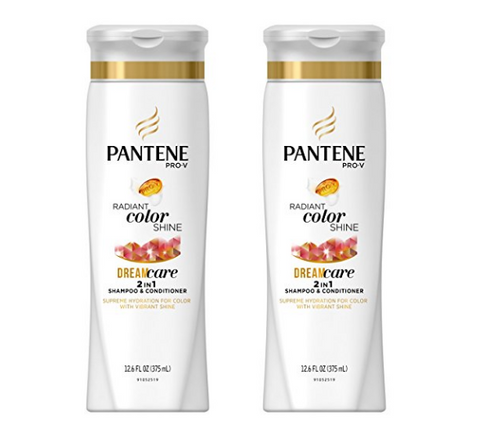 2 bottles of Pantene Pro-V Shampoo and Conditioner, 12.6 FL OZ