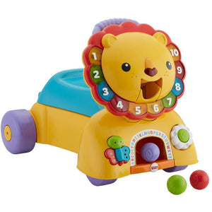Fisher-Price 3-in-1 Sit, Stride & Ride Interactive Lion Toy