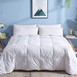 Cotton Goose Duck Feather Down Comforter