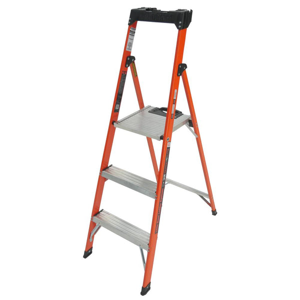 5 Foot Quick-N-Lite Fiberglass Stepladder