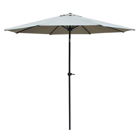 8 foot patio umbrella with crank and push bottom tilt