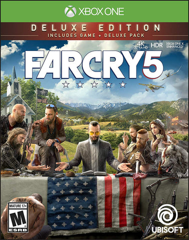 Far Cry 5 Deluxe Edition (Xbox One Digital Download)
