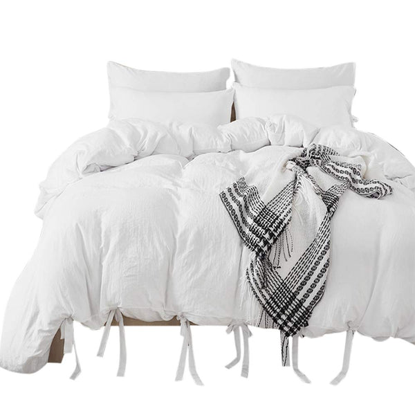 3 Piece Queen Duvet Cover Set