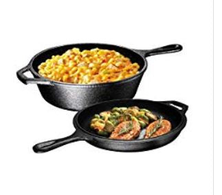 Save 25% on Pre-Seasoned Cast Iron Cookware