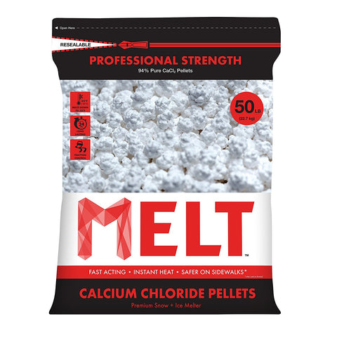 50-LB Calcium Chloride Pellets Ice Melter