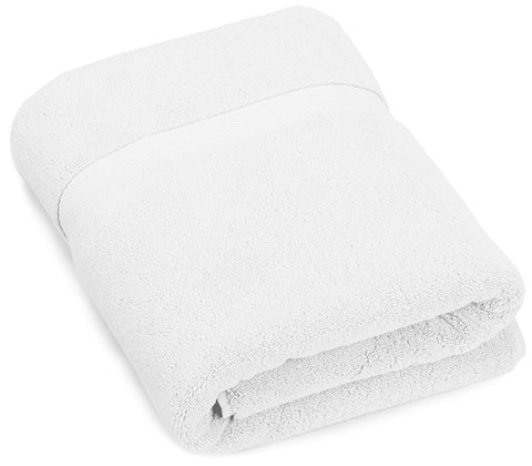 Heavyweight Luxury bath towel - white