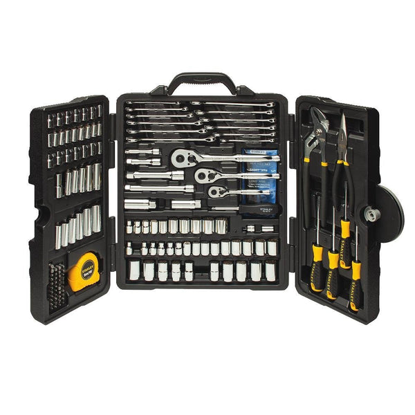 170-Piece Stanley Mixed Tool Set w/ Tri-Fold Case
