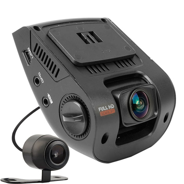 Rexing dual channel dash cam