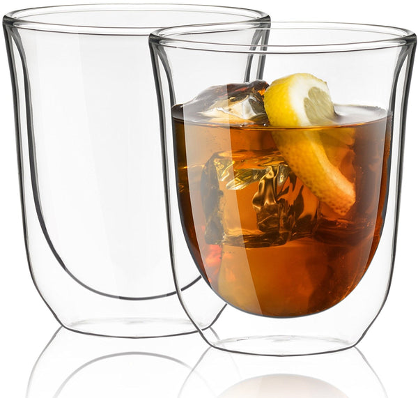 Set of 2 double wall glasses