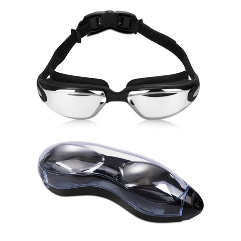 Anti fog swimming goggles