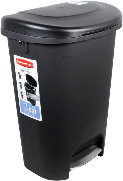 Rubbermaid Step-On 13 Gallon Trash Can