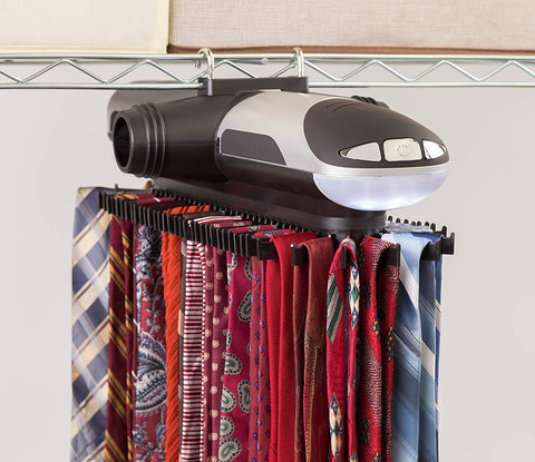 Motorized 70 tie rack