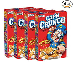 4 Boxes Of Cap'N Crunch Cereal
