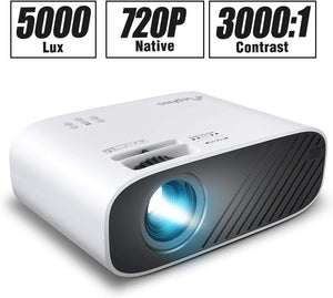5000 LUX Full HD 1080P Video Projector
