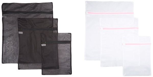 Set of 6 mesh laundry bags
