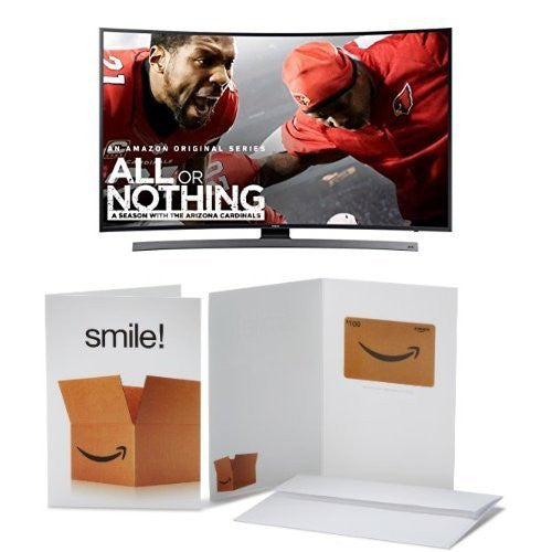 Samsung Curved 55-Inch 4K HD Smart LED TV with $100 Amazon Gift Card
