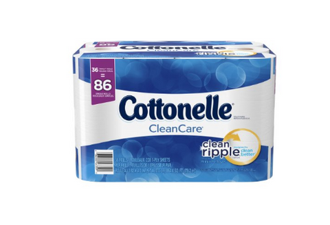 36 rolls Cottonelle CleanCare Family Roll Toilet Pape